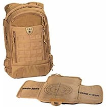 Tactical Baby Gear Daypack 3.0 Tactical Diaper Bag Backpack and Changing  Mat (Coyote Brown) 03d4b35757fd3