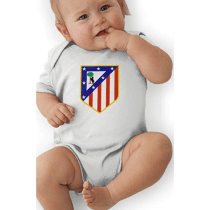 3c52f6fad Atletico Madrid Infant Bodysuit Baby Romper - 6 Months - White