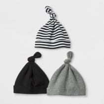 bdbdba79d96 Baby Boys  Save the Day 3pk Hats - Cloud Island™ Black