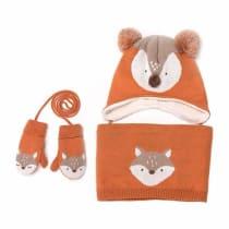 e4104137365 Baby Hats Baby Mittens Baby Girls Boys Winter Warm Knit Hat+Scarf+Gloves 3  Pieces Set - Orange · Amazon 15.99