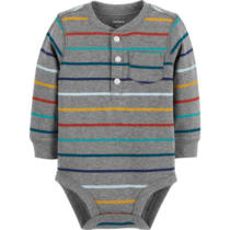 2524030aa5b Carter s Slogan Long Sleeve Bodysuits - Baby Boy NB-24 months - JCPenney