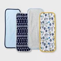 Baby Boys  4pk Gone Wild Burp Cloth Set - Cloud Island™ Blue · Target 7.99 b9df547ec828