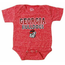 9096fddf4 Little King NCAA Georgia Bulldogs NCAA College Newborn Infant Baby Knobby  Creeper Red - 6 Months
