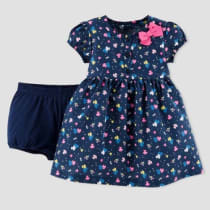 753d27239d2 Baby Girls  Floral Dress Set - Just One You™ Made by Carter s® Navy