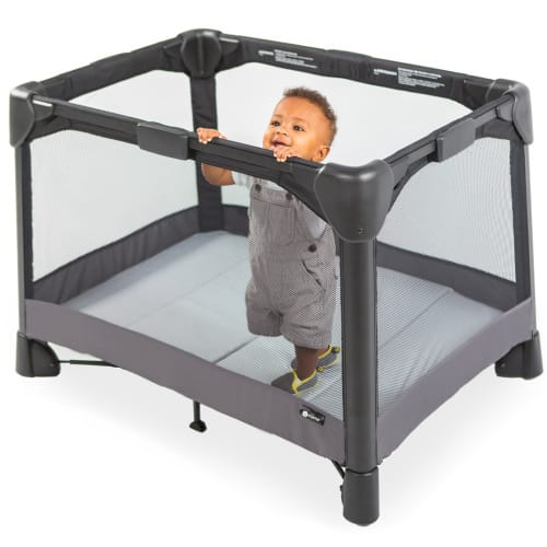 No Free Hands? This Playard Has You Covered