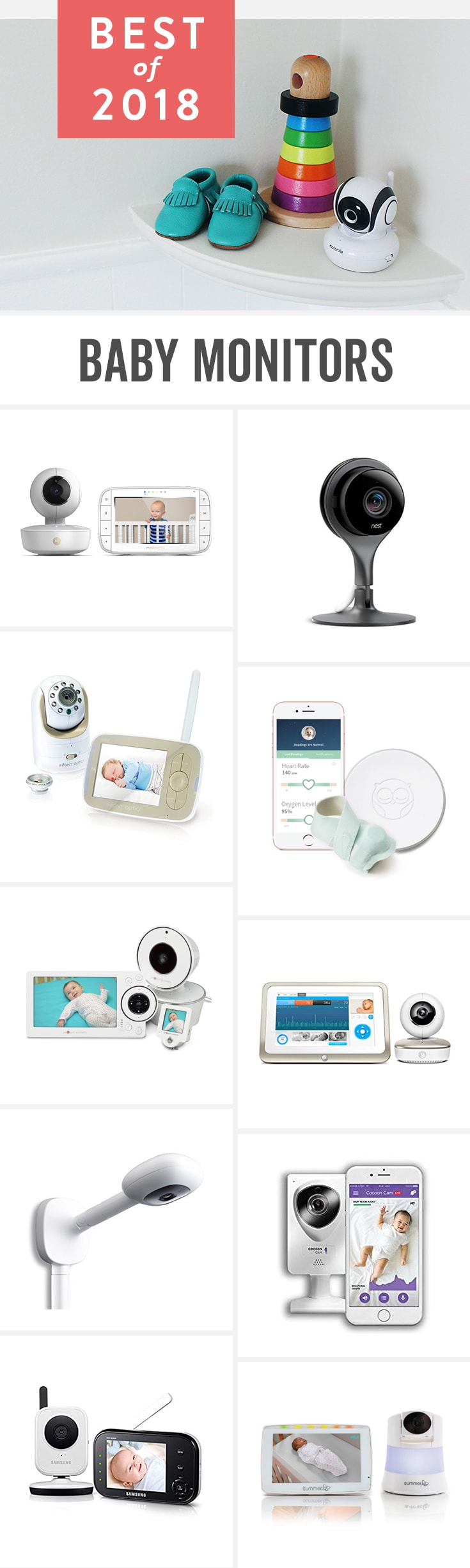 Babylist is the baby registry that lets you add any item from any store including the best baby monitors. Read our unbiased reviews on top rated baby monitors for baby safety.
