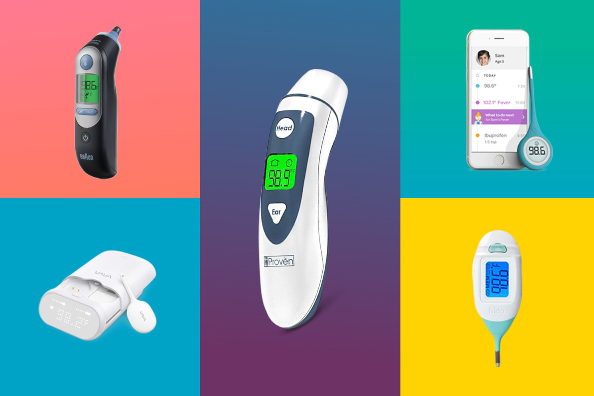 Best Forehead Thermometer 2020 7 Best Baby Thermometers of 2019