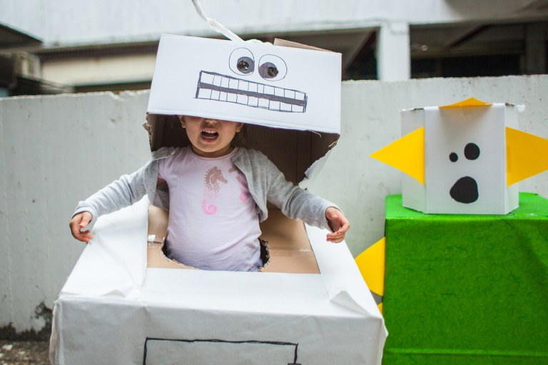 Easy DIY Baby Halloween Costumes.