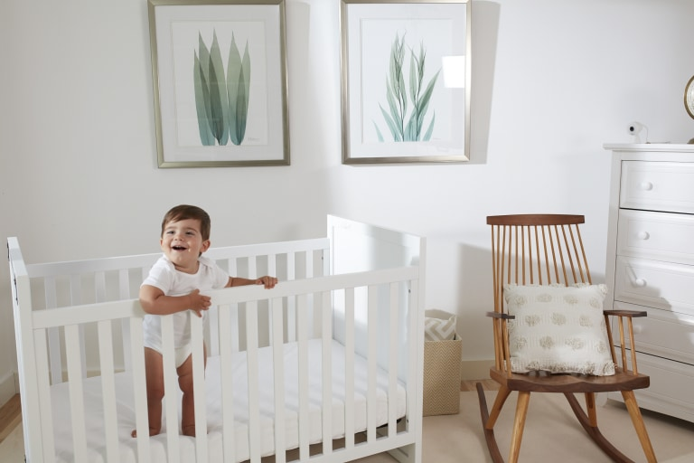 A Baby Monitor that Lets You See and Hear Clearly, Anywhere.