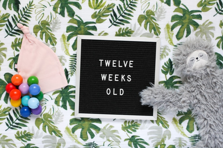 Your 12-Week-Old Baby.