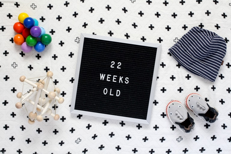 Your 22-Week-Old Baby.