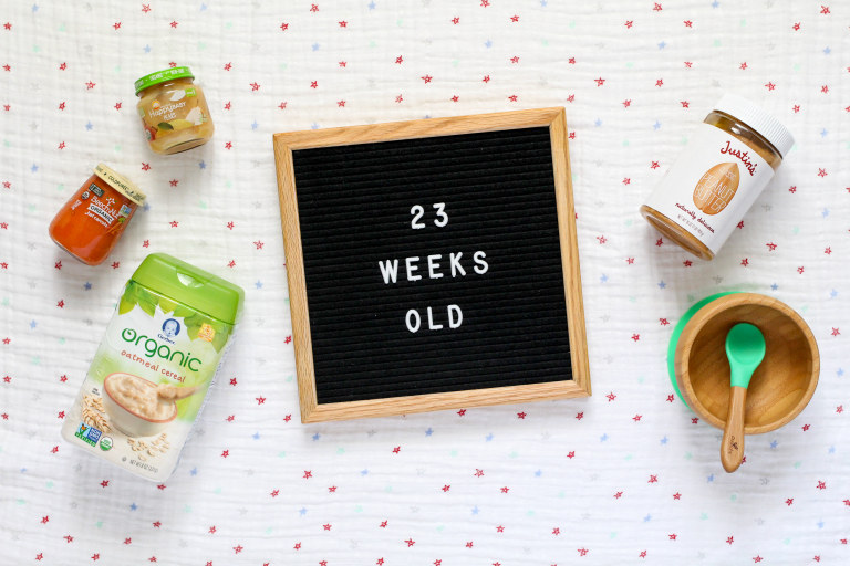 Your 23-Week-Old Baby .