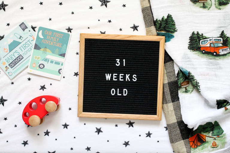 Your 31-Week-Old Baby.