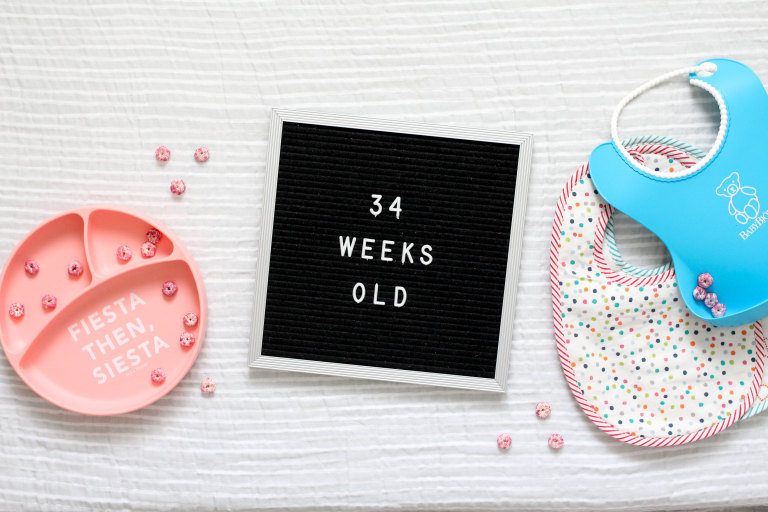 Your 34-Week-Old Baby