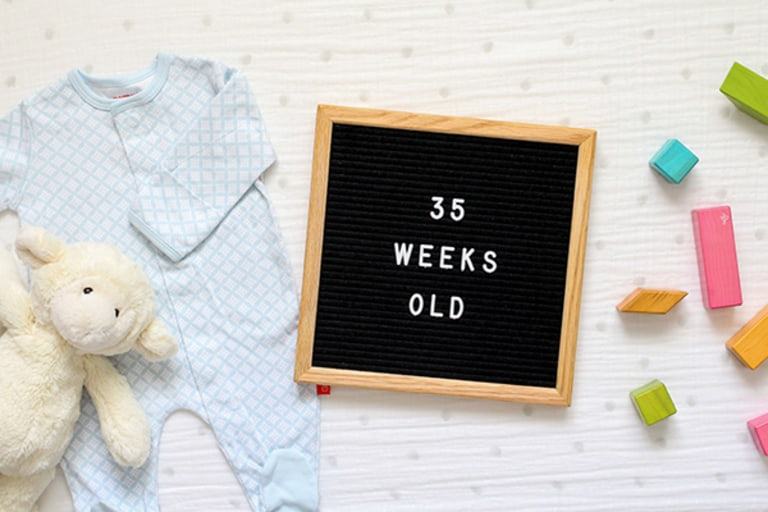 Your 35-Week-Old Baby.