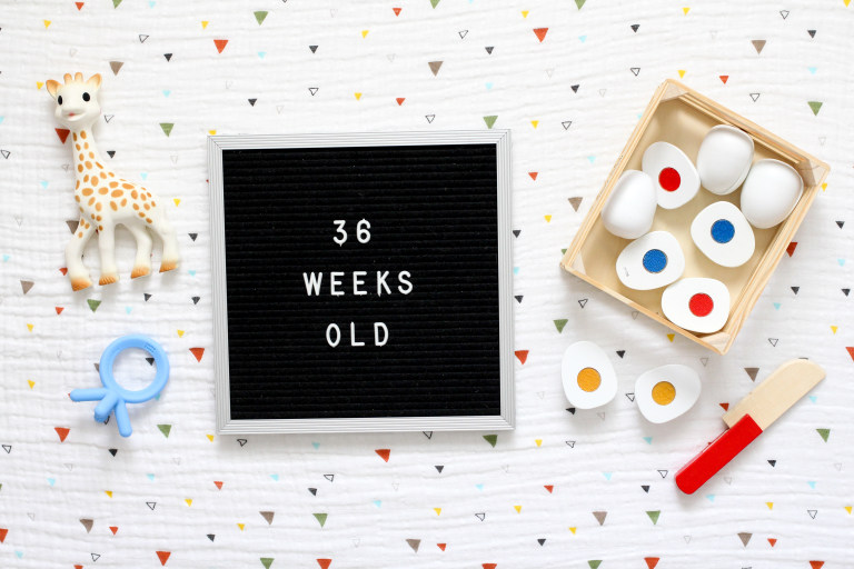 Your 36-Week-Old Baby