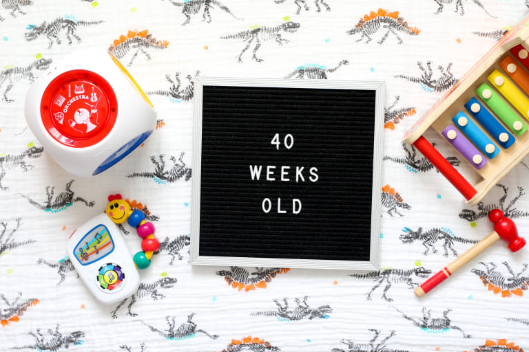 Your 40-Week-Old Baby