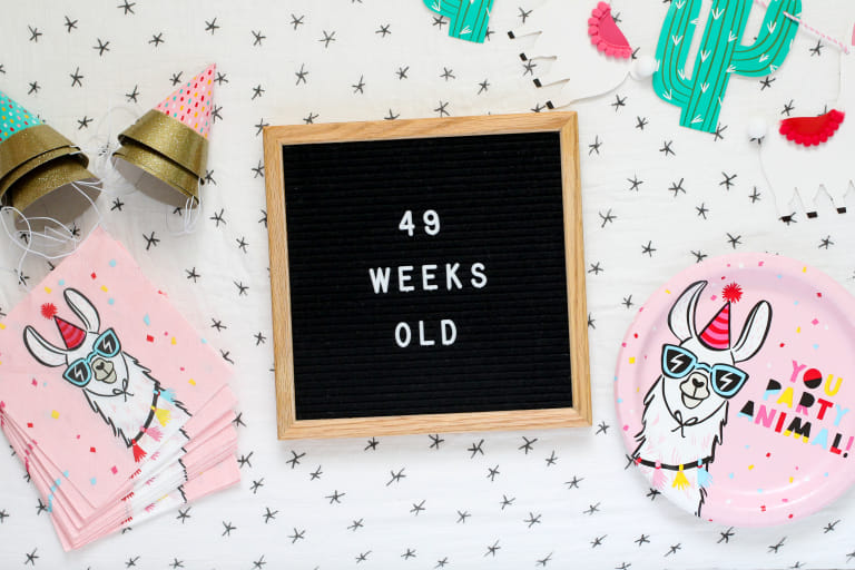 Your 49-Week-Old Baby