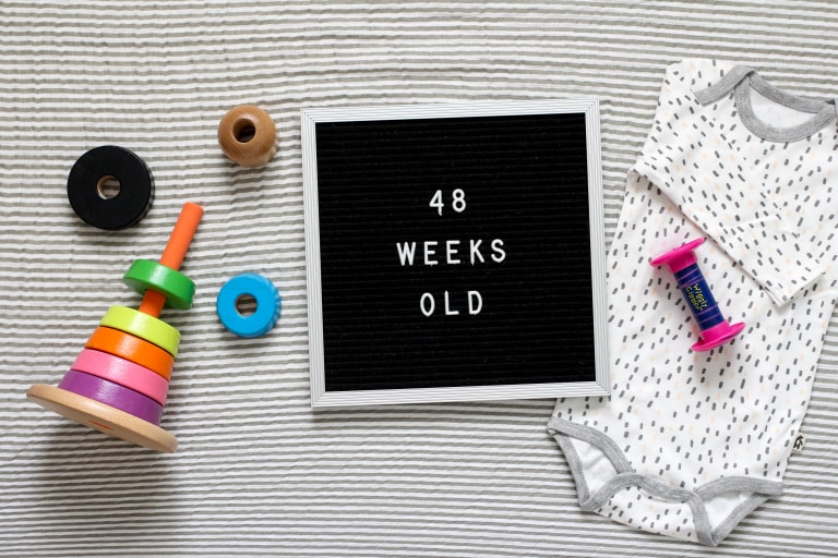 Your 48-Week-Old Baby.