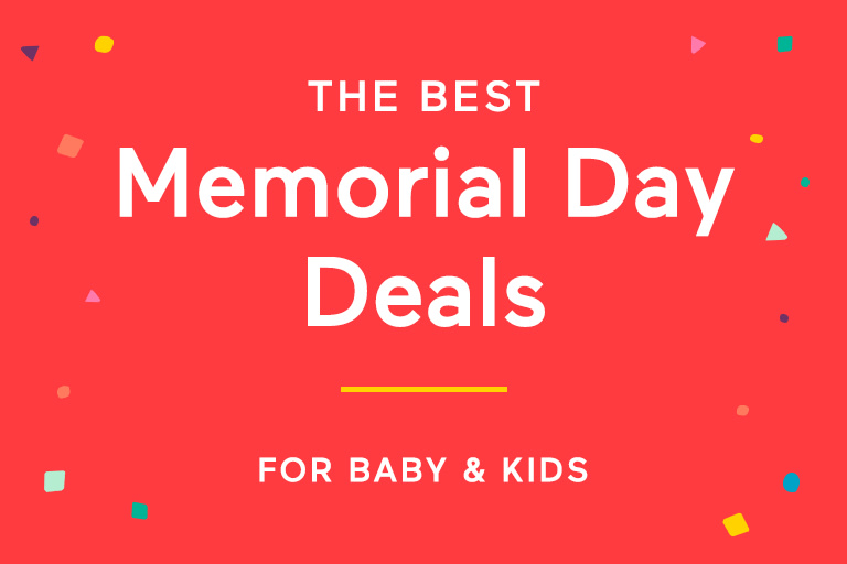 2019 Memorial Day Deals for Baby and Kids