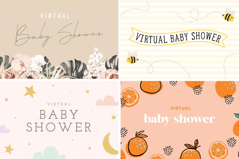 Babylist's Virtual Baby Shower Bundles.