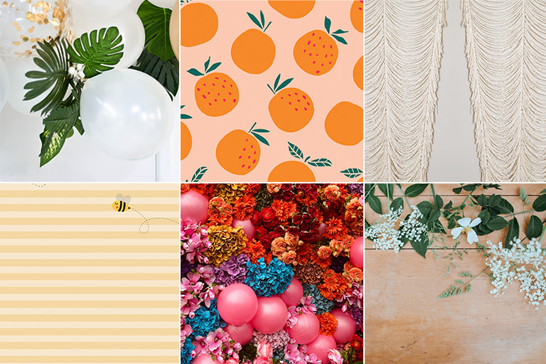 10 Fun Virtual Backgrounds for your Zoom Baby Shower.