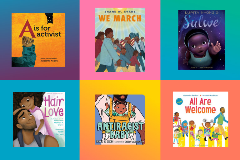 Anti-Racist Books for Babies and Toddlers.
