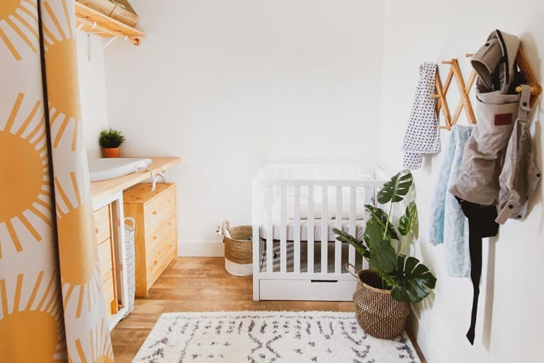 Best Nursery Inspiration for Small Spaces.
