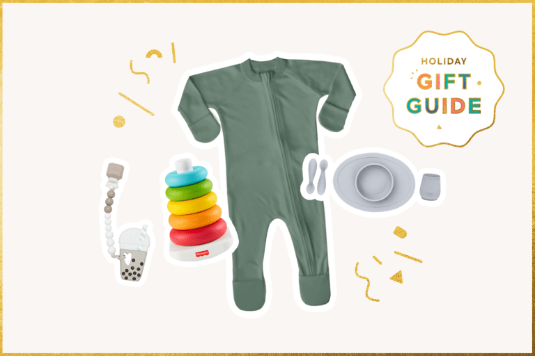 Minimalist Holiday Gift Guide for Babies and Toddlers.