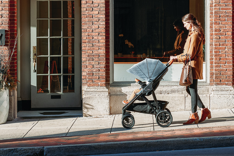 This Chicco Travel System Pairs an Upgraded Car Seat with a Sleek Stroller