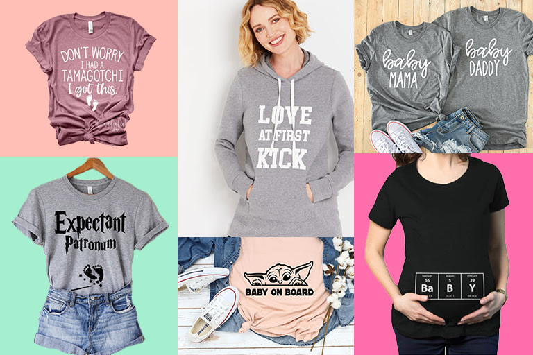 15 Unique Maternity Shirts to Celebrate Your Pregnancy.