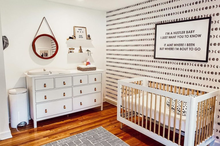 Best Black and White Nursery Inspiration.
