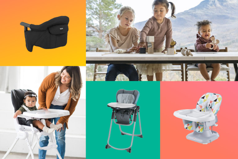 Best High Chairs for Small Spaces.