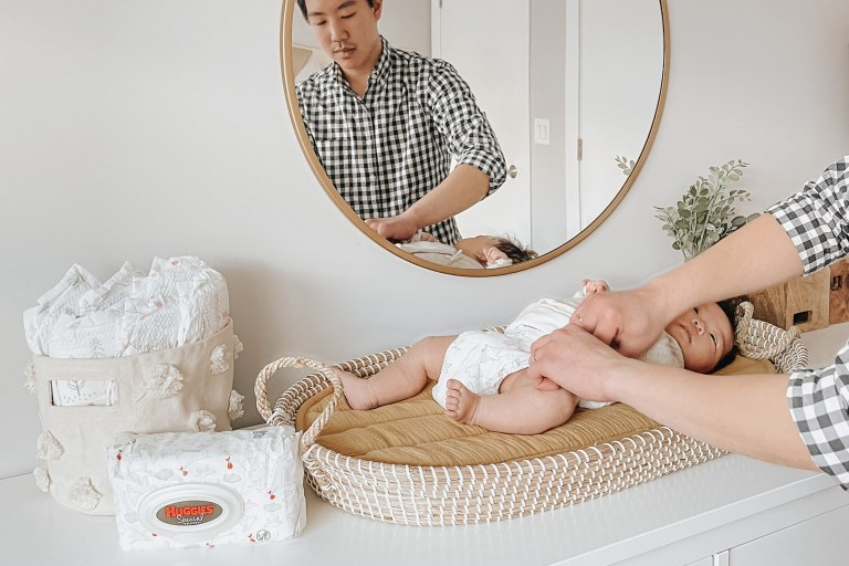 How to Set Up a Diaper Changing Station.