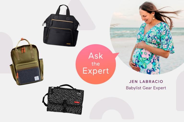 Ask the Expert: Diaper Bags.