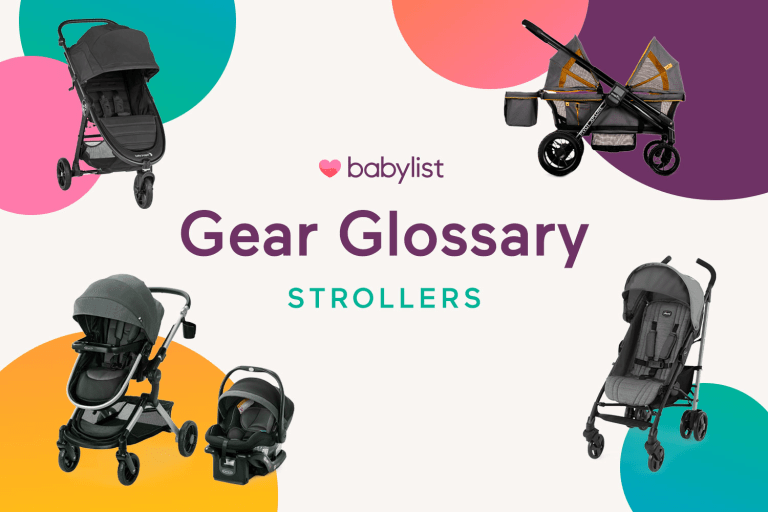Baby Gear Glossary: Strollers.