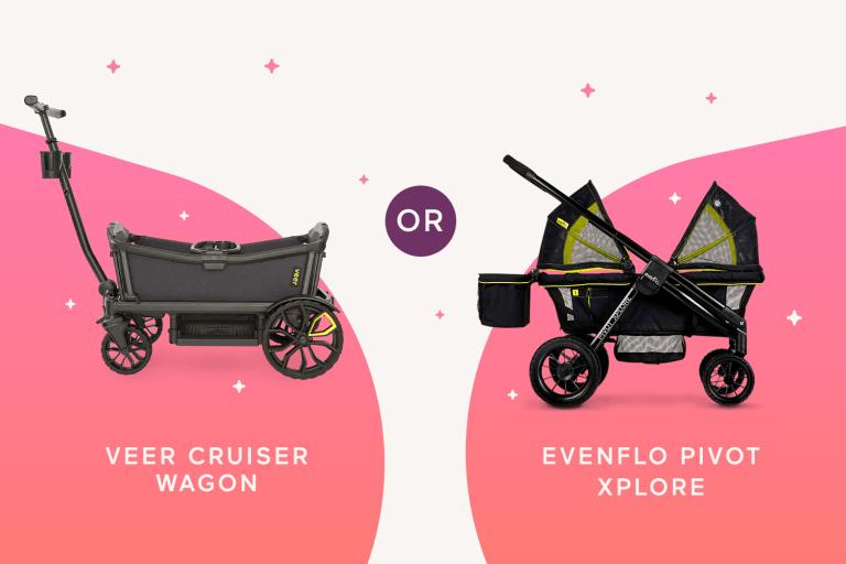 Help Me Decide! Veer Cruiser Wagon or Evenflo Pivot Xplore.