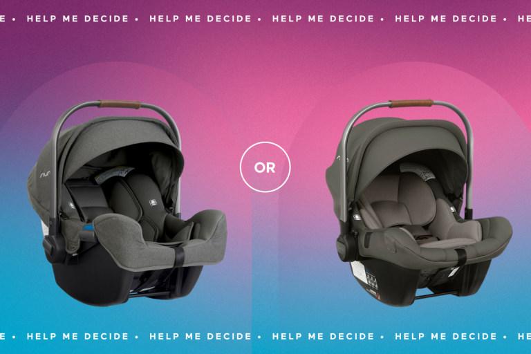 Help Me Decide! Nuna Pipa or Nuna Pipa Lite LX.