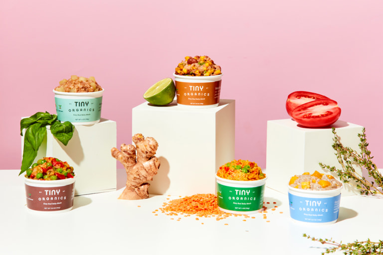 Tiny Organics was Designed to Teach Your Baby to Love Vegetables.