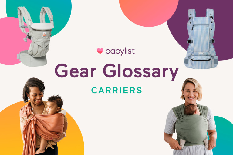 Baby Gear Glossary: Baby Carriers.