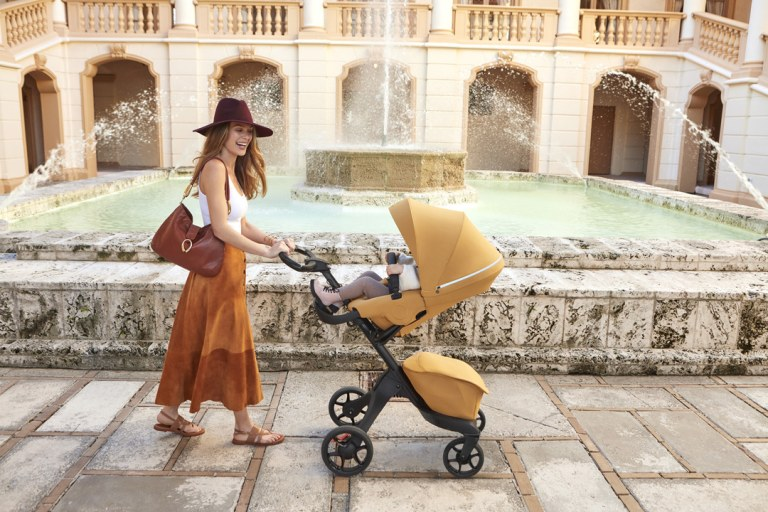 First Look: The Fashionable and Functional Stokke Xplory X Stroller