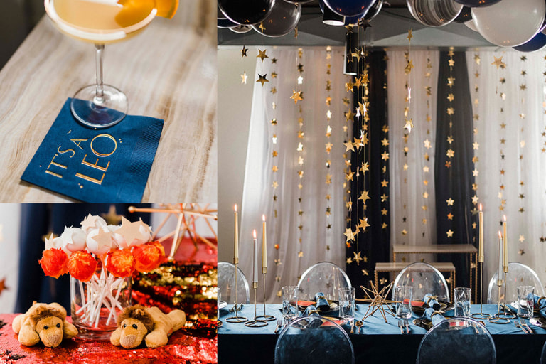 How to Throw a Zodiac Reveal Party.