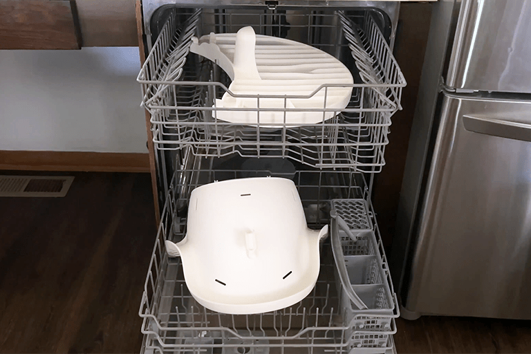 First Look: The New Dishwasher-Friendly High Chair from Boon