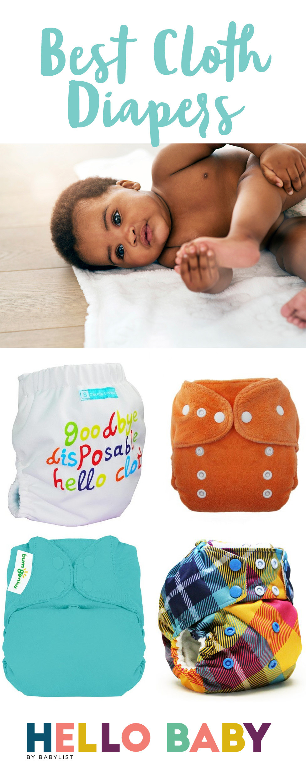 The cloth diapers of our childhood were a total PITA, but you'll be shocked by how far they've come.