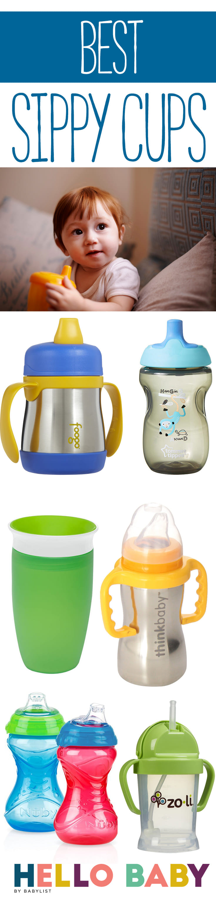 There comes a time in every baby's life when it's time to go from breast or bottle to a cup. That's when the sippy cup becomes your new BFF.