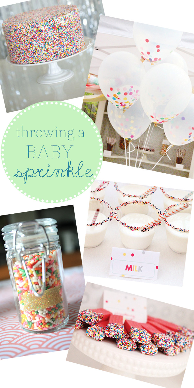 Wondering how to plan your baby sprinkle? Here are several ideas that celebrate the baby-to-be without all the pomp and circumstance of your first baby's shower.