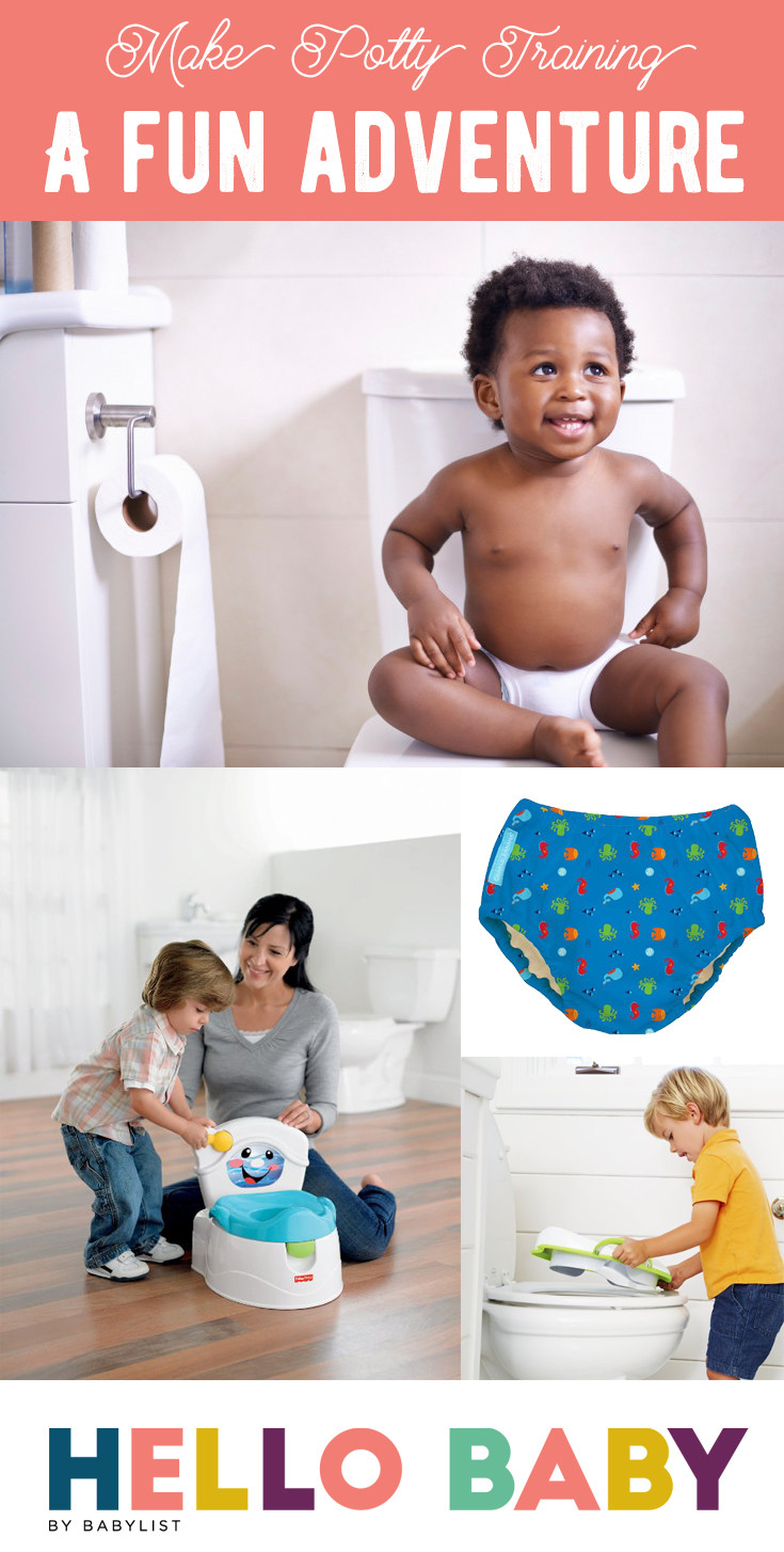Potty training can be a tense time for parents and kids, but it doesn't have to be all stress and mess. Here's your guide to approaching potty training with a sense of fun, so you and your kid can stay smiling.