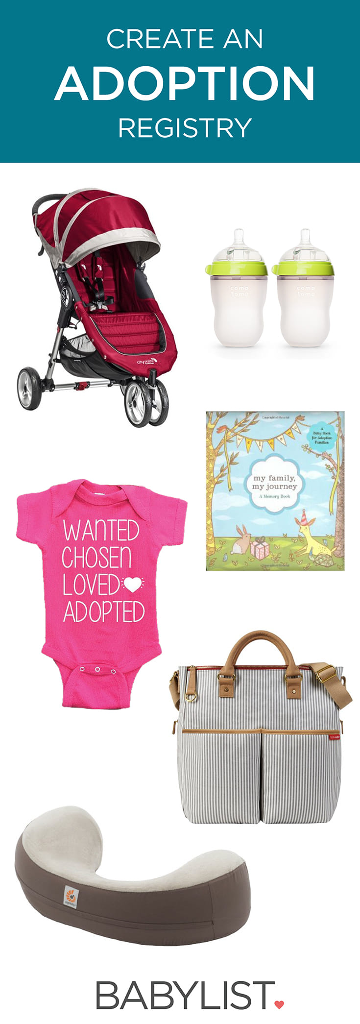 Wondering what gear you'll need and want for your newly adopted child? Here are some lovingly chosen suggestions!