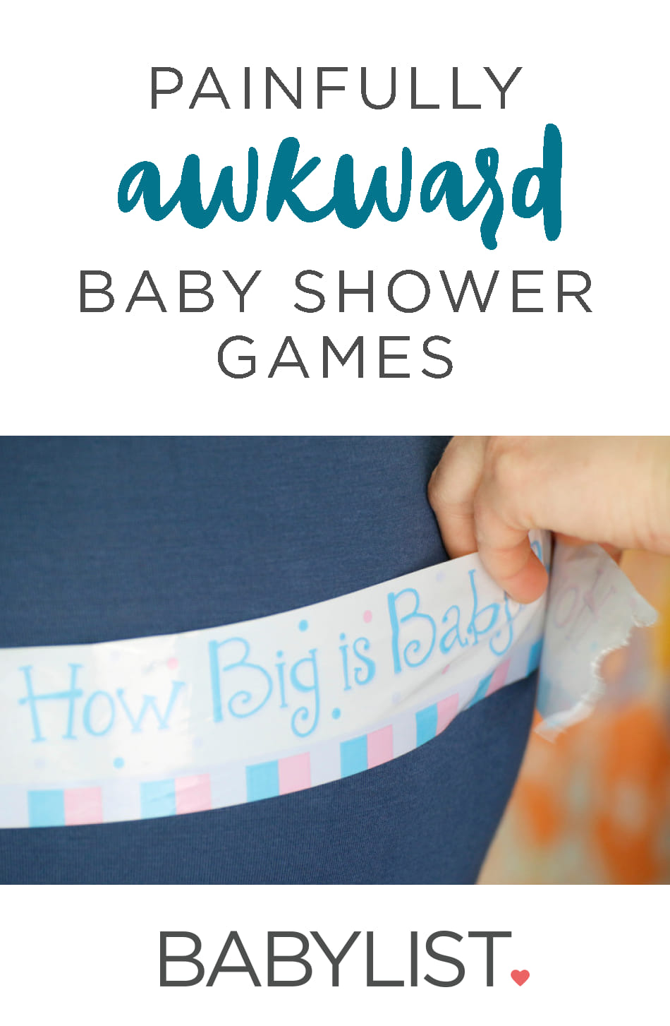 Baby Shower Games that are Painfully Awkward