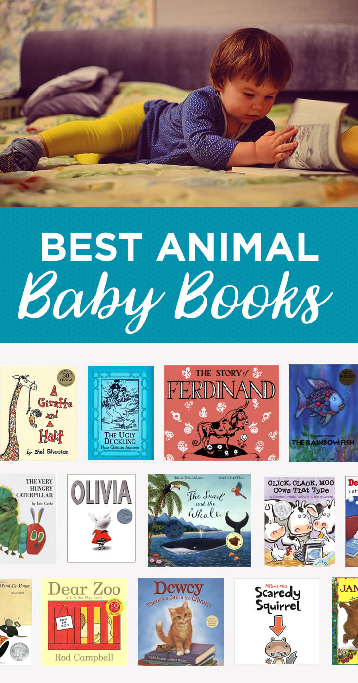 Our fifteen favorite animal books of all time.  Cuteness abounds!